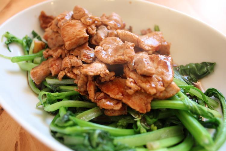 filet migono choi-sum