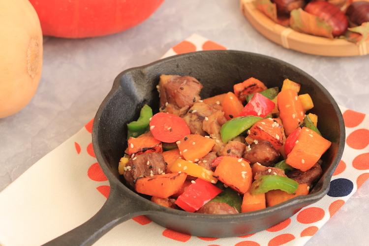 chataignes-et-legumes-de-saison-au-wok