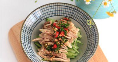 Salade poulet pimentée